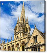 University Church Of St Mary The Virgin Acrylic Print