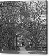 University Hall And Pathway Osu Acrylic Print