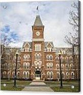 University Hall Ohio State University  Acrylic Print