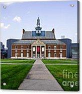 University Of Cincinnati Tangeman University Center  Acrylic Print