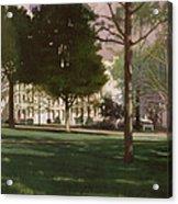 University Of South Carolina Horseshoe 1984 Acrylic Print