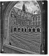 University Of Sydney-black And White V3 Acrylic Print