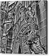 University Of Sydney-black And White V5 Acrylic Print