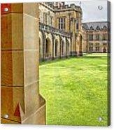University Of Sydney Quadrangle V2 Acrylic Print
