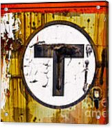 Unknown T - Railroad Art Acrylic Print