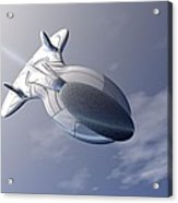 Unmanned Spaceship Acrylic Print