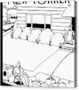 New Yorker May 3rd, 2010 Acrylic Print