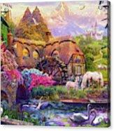 Light Palace Acrylic Print