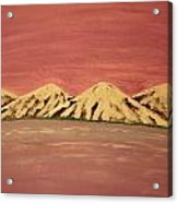 Untitled Mountains Acrylic Print