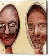Untitled Two Acrylic Print by Anna Skaradzinska