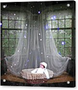 Unto Us A Child Is Born Acrylic Print