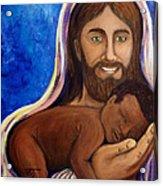 Unto You A Godly Son Is Given Acrylic Print