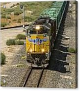 Up 8587 Southbound From Tipton Acrylic Print