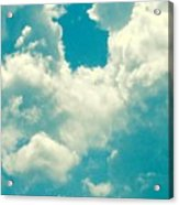 The Kiss Of The Clouds Acrylic Print