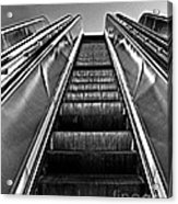 Up Escalator Acrylic Print