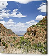 Up From Jerome Arizona Acrylic Print