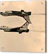 up side down Thunderbird's  Acrylic Print