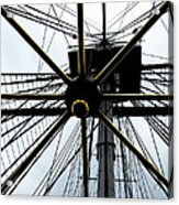 Up The Rigging Acrylic Print