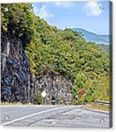 Uphill Downhill Acrylic Print