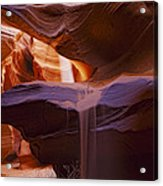 Upper Antelope Canyon Beam Acrylic Print