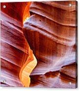Upper Antelope Canyon Acrylic Print by Robert Jensen
