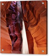 Upper Antelope Canyon Sunbeam Acrylic Print
