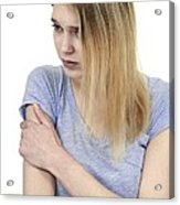 Upper Arm Pain Acrylic Print