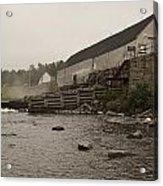 Upper Dam Gatehouse II Acrylic Print