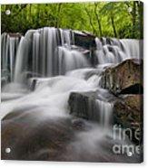 Upper Jonathan Run Falls D300_16557 Acrylic Print