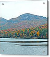 Upper Lake Toxaway In The Fall 2 Acrylic Print