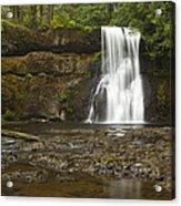 Upper North Silver Falls 1 Acrylic Print