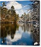 Upper Pond Acrylic Print