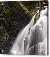 Upper Portion Of Lower Falls Acrylic Print