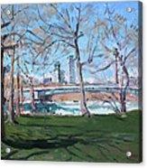 Upper Rapids Of Niagara Falls Ny Acrylic Print