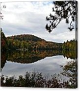 Upper Saranac Bay In Fall Acrylic Print