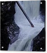 Upper Twin Falls Close Acrylic Print
