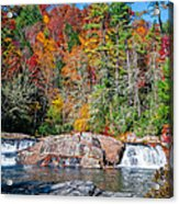 Upper Twin Falls Acrylic Print