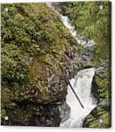 Upper Twin Falls Steps Acrylic Print
