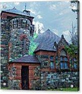 Uppity Hobbit Gothic Acrylic Print by MJ Olsen