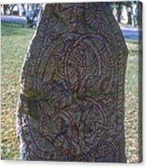 Uppsala Runestone Acrylic Print