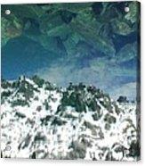 Upside Down World Acrylic Print