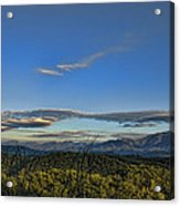 Upslope Flow Acrylic Print by Steven Richardson