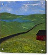 Upstate Lakes Region Acrylic Print