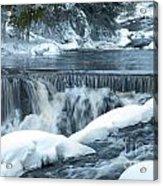 Upstream At Bond Falls Acrylic Print