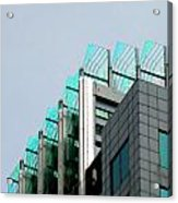 Uptown Rooftop Acrylic Print