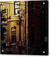 Urban Alley Acrylic Print