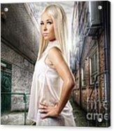 Urban Angel 1.0 Acrylic Print