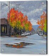 Urban Autumn Acrylic Print