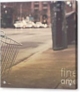 Urban Bicycle Acrylic Print
