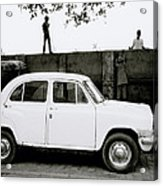 Urban Calcutta Acrylic Print